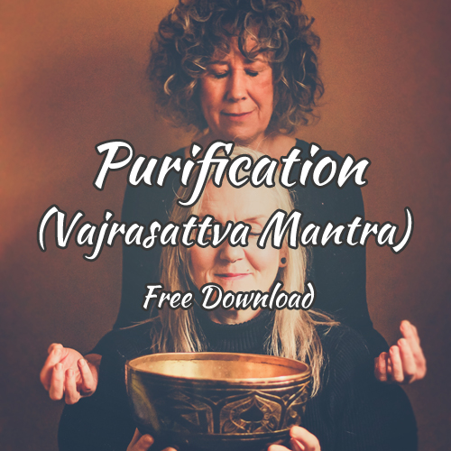 Purification (Vajrasattva Mantra) Free Download With Love From her & her